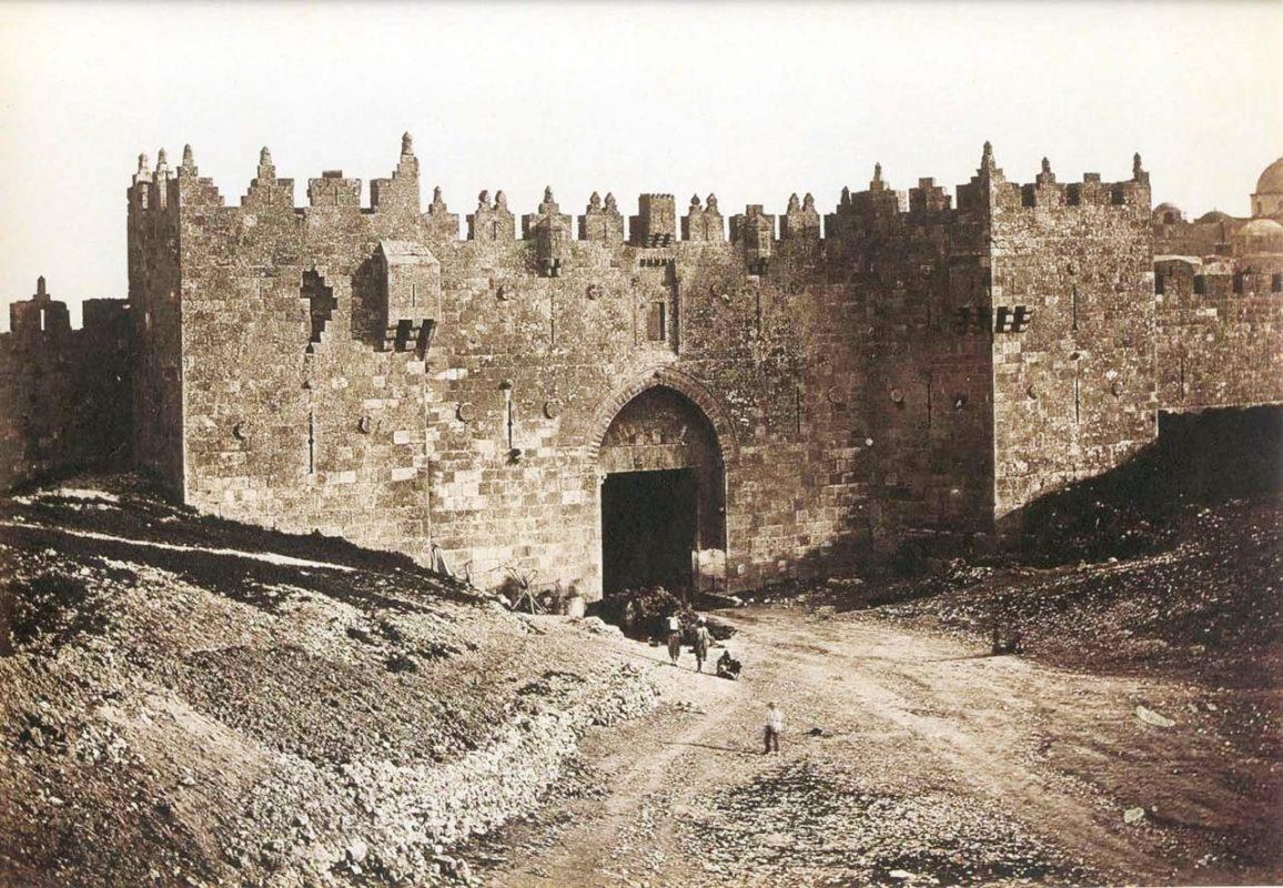 Damascus Gate Jerusalem 1857