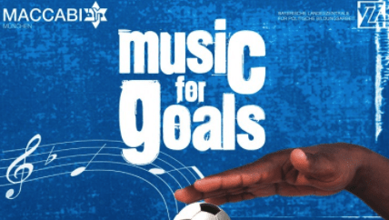 Plakatdesign Music for Goals