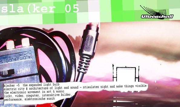 Flyerdesign Slacker 05 Ultraschall